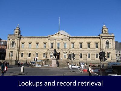 Lookup and record retrieval